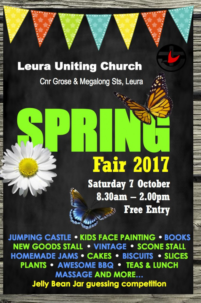A5 Church Fete Flyer 2017
