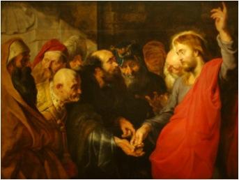 Rubens tribute money
