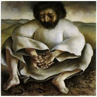 jesus in wilderness stanley spencer